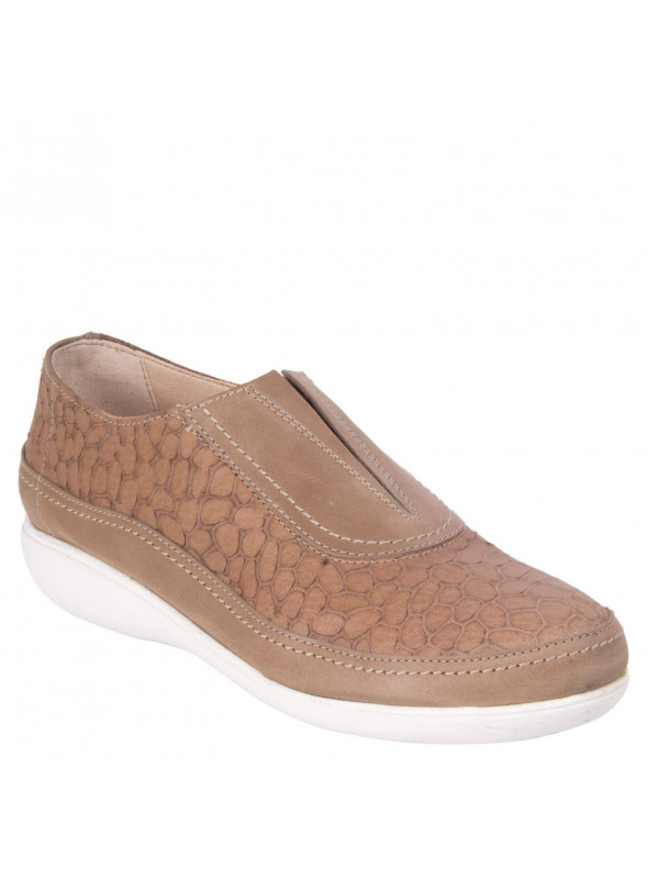 Zapato Taupe Relief 16 Hrs